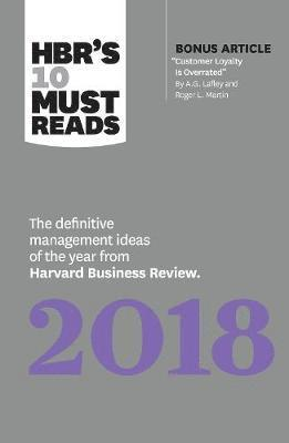bokomslag HBR's 10 Must Reads 2018