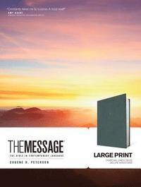 bokomslag The Message Large Print: The Bible in Contemporary Language