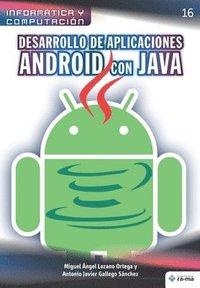 bokomslag Desarrollo de aplicaciones Android con JAVA