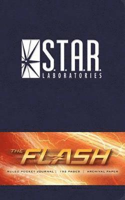 bokomslag Flash: s.t.a.r. labs ruled pocket journal