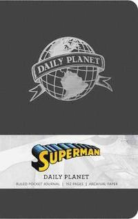 bokomslag Superman: daily planet ruled pocket journal