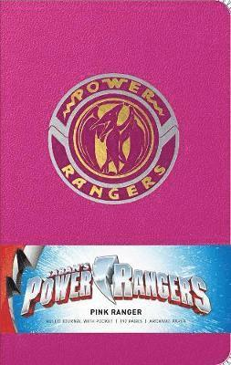 bokomslag Power rangers: pink ranger hardcover ruled journal