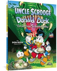 bokomslag Walt Disney Uncle Scrooge and Donald Duck: Escape from Forbidden Valley: The Don Rosa Library Vol. 8
