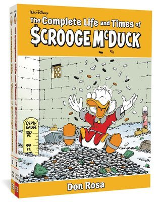 bokomslag The Complete Life and Times of Scrooge McDuck Vols. 1-2 Boxed Set