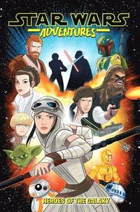 bokomslag Star Wars Adventures Vol. 1: Heroes of the Galaxy