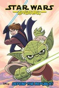 bokomslag Star Wars Adventures: Defend the Republic!