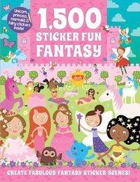 bokomslag 1,500 Sticker Fun Fantasy
