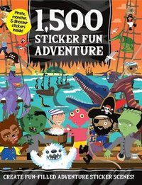bokomslag 1,500 Sticker Fun Adventure