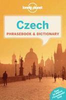 bokomslag Czech Phrasebook & Dictionary