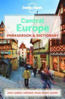 bokomslag Lonely planet central europe phrasebook & dictionary