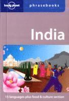 bokomslag Lonely Planet India Phrasebook
