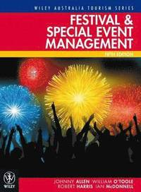 bokomslag Festival and Special Event Management, 5th Edition