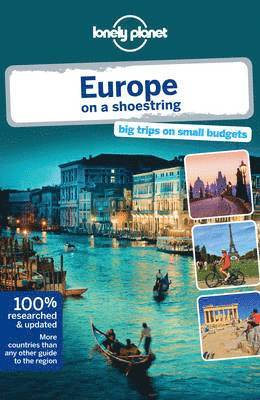 bokomslag Lonely Planet Europe on a Shoestring