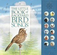 bokomslag The Little Book of Backyard Bird Songs