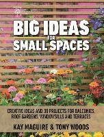 bokomslag Big Ideas for Small Spaces: Creative Ideas and 30 Projects for Balconies, Roof Gardens, Windowsills and Terraces