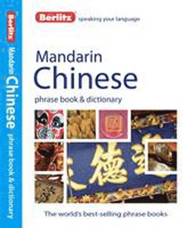 bokomslag Mandarin Chinese phrasebook & dictionary
