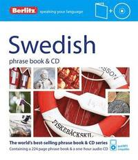 Swedish Phrase Book & CD