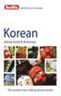 bokomslag Korean Phrase Book & Dictionary