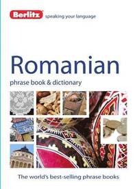 bokomslag Romanian Phrase Book & Dictionary