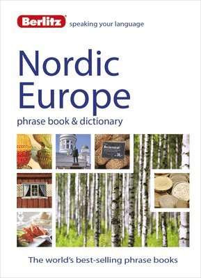 bokomslag Nordic Europe Phrase Book & Dictionary: Norwegian, Swedish, Danish, & Finnish