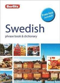 bokomslag Swedish phrasebook & dictionary