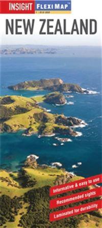 bokomslag Nya Zeeland Fleximap : 1:1,75milj