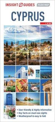 bokomslag Cyprus - Insight Flexi Map