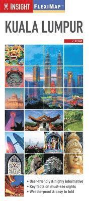 bokomslag Kuala Lumpur - Insight Flexi Map