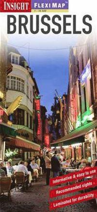 Bryssel FlexiMap stadskarta : 1:13500