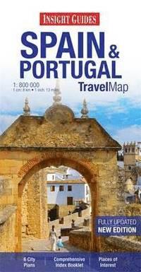 bokomslag Insight Travel Maps: Spain &; Portugal