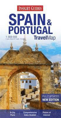 bokomslag Insight Travel Maps: Spain &; Portugal