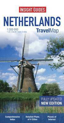 bokomslag Insight Travel Map: Netherlands