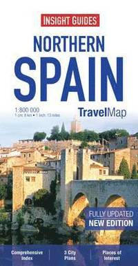 bokomslag Insight Travel Map: Northern Spain