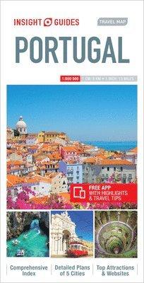 bokomslag Portugal - Travelmap