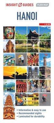bokomslag Insight Guides Flexi Map Hanoi