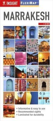 bokomslag Marrakesh Insight Flexi Map