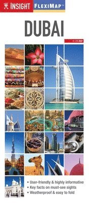 bokomslag Dubai - Insight Flexi Map