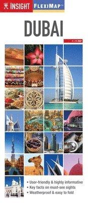 bokomslag Insight Guides Flexi Map Dubai