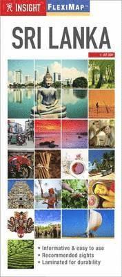 bokomslag Insight Flexi Map: Sri Lanka