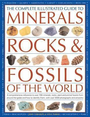 bokomslag Complete Illustrated Guide to Minerals, Rocks &; Fossils