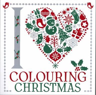 bokomslag I Heart Colouring: Christmas