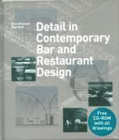 bokomslag Detail in Contemporary Bar and Restaurant Design [With CDROM]