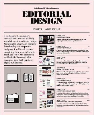 bokomslag Editorial design - digital and print