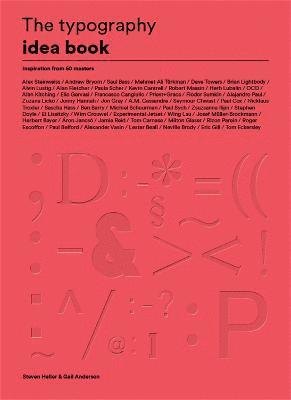 bokomslag The Typography Idea Book: Inspiration from 50 Masters