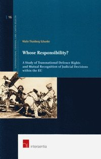 bokomslag Whose Responsibility?