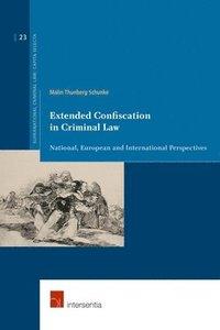 bokomslag Extended Confiscation in Criminal Law