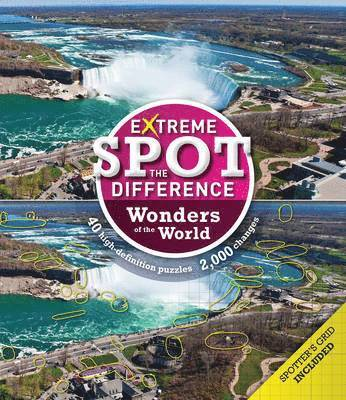 bokomslag Extreme Spot-the-Difference: Wonders of the World
