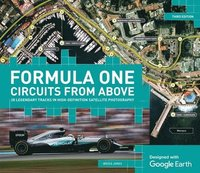 bokomslag Formula one circuits from above