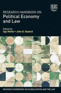 bokomslag Research Handbook on Political Economy and Law