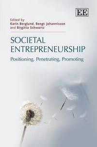 bokomslag Societal Entrepreneurship